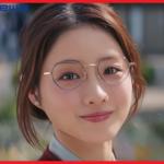 【石原さとみ東京メトロCM】王子の丸メガネや曲かわいい!画像